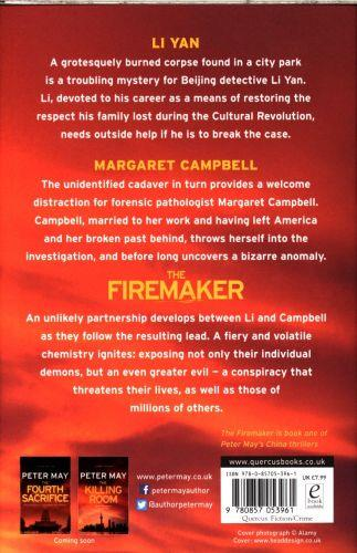 THE FIREMAKER - CHINA THRILLERS : BOOK 1