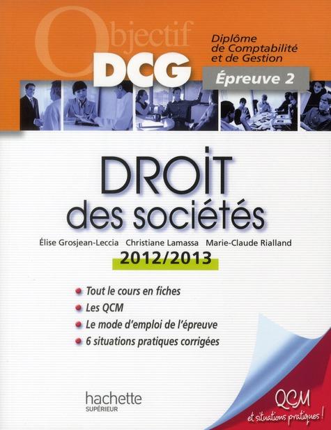 Droit Des Societes (Edition 2012/2013)