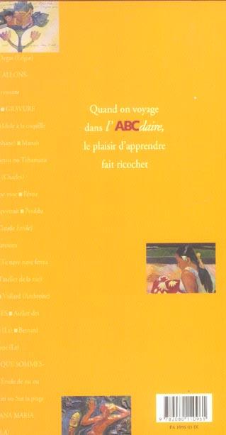 l'abcdaire de Gauguin