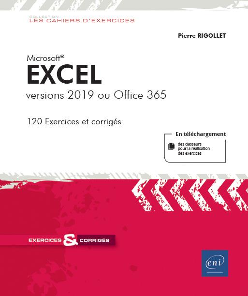 Excel ; versions 2019 ou Office 365