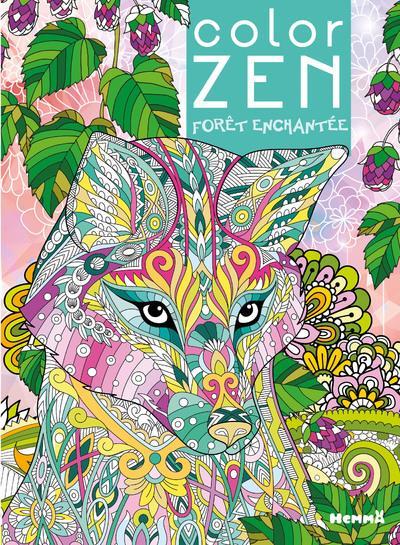 Color zen ; forêt enchantée