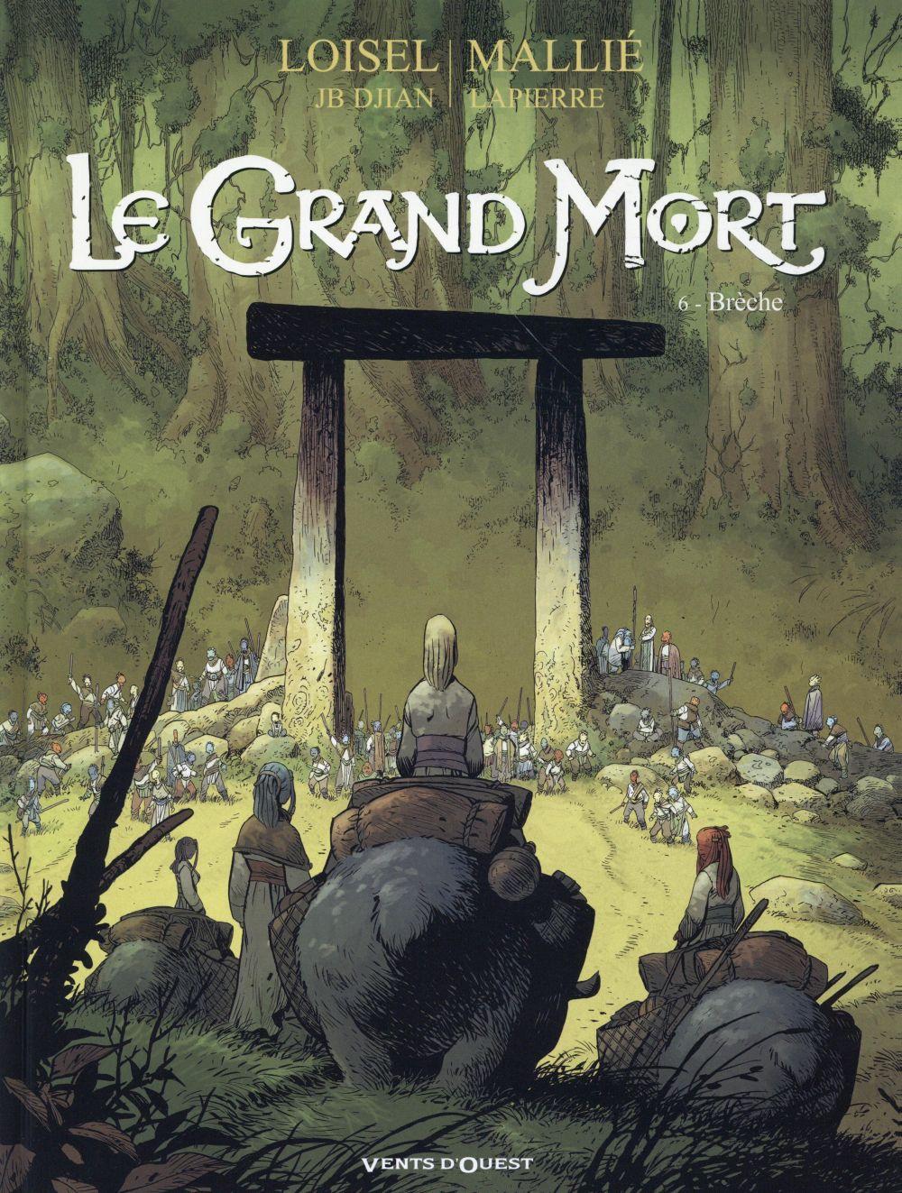 LE GRAND MORT T.6  -  BRECHE