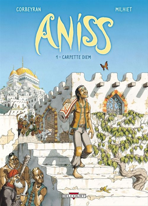 Aniss T01  - Eric Corbeyran  - Corbeyran  - Olivier Milhiet