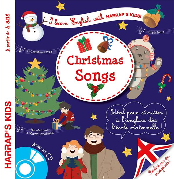 I LEARN ENGLISH WITH HARRAP'S KIDS !  -  CHRISTMAS SONGS