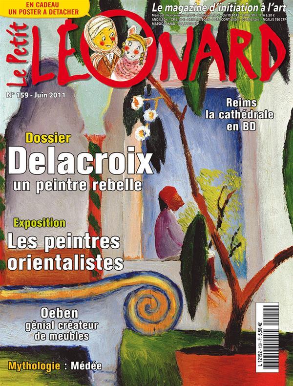 Le petit leonard t.159 ; delacroix, un peintre rebelle
