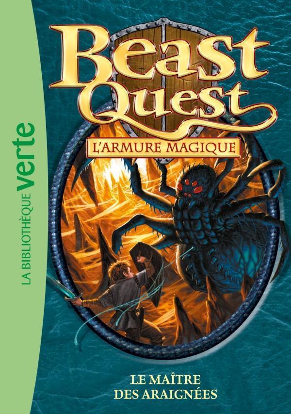 Beast Quest T.13 ; le maître des araignées