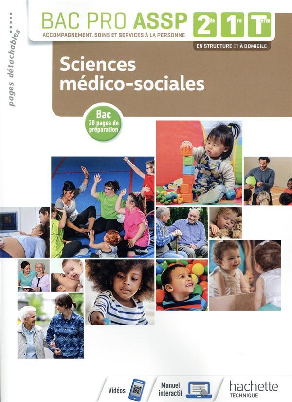 Sciences medico-sociales 2de, 1re, tle bac pro assp - livre eleve - ed. 2019 (édition 2019)