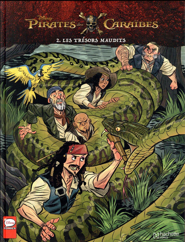 Pirates Des Caraibes T.2 ; Les Tresors Maudits