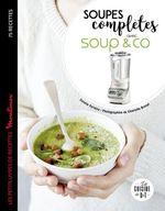 Vente Livre Numérique : Soupes complètes avec Soup & co  - Coralie Ferreira