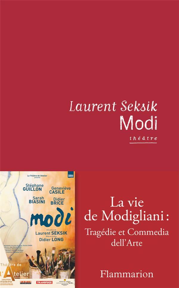 Modi, la vie de Modigliani : tragédie et commedia dell'Arte
