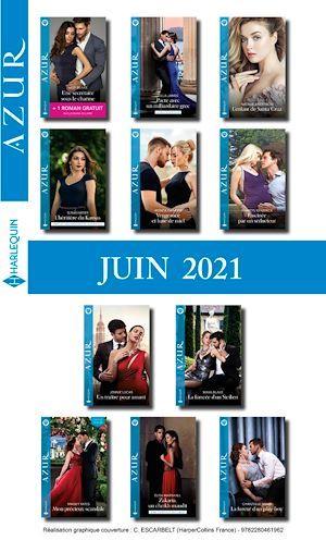 Pack mensuel Azur : 11 romans + 1 gratuit (Juin 2021)