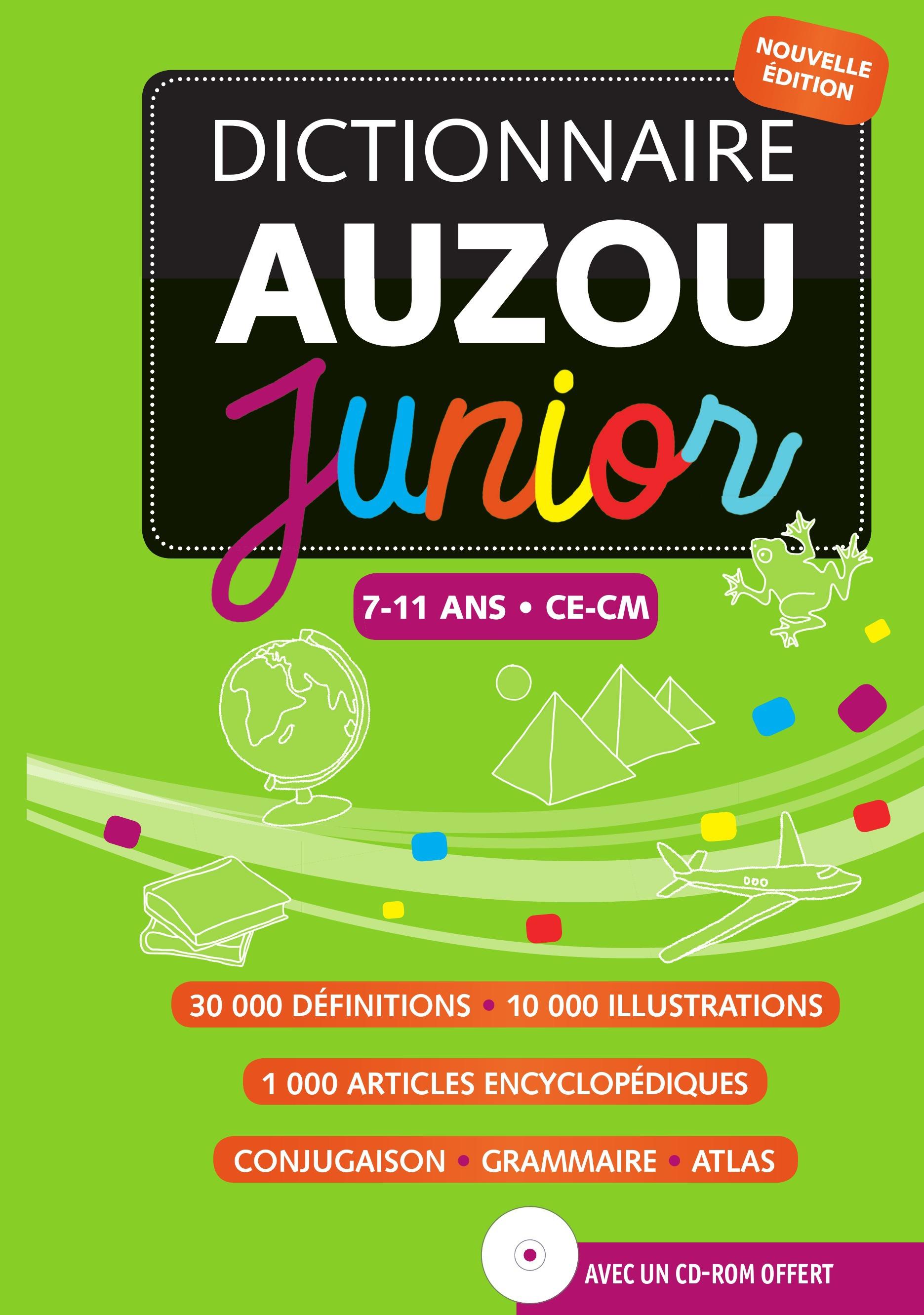 Dictionnaire Auzou junior 2013