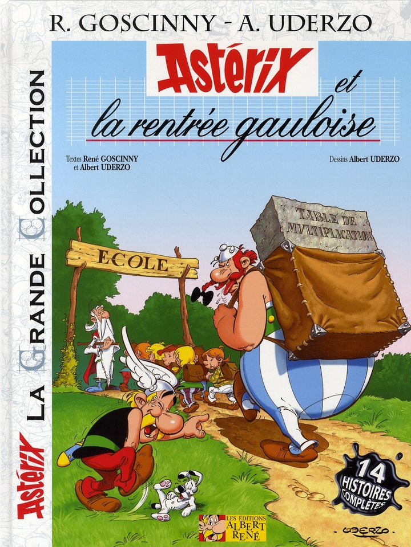 Asterix T.32 ; Asterix Et La Rentree Gauloise