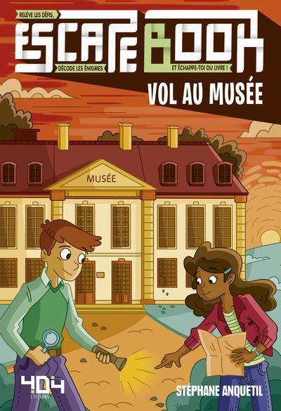 Escape book ; vol au musée