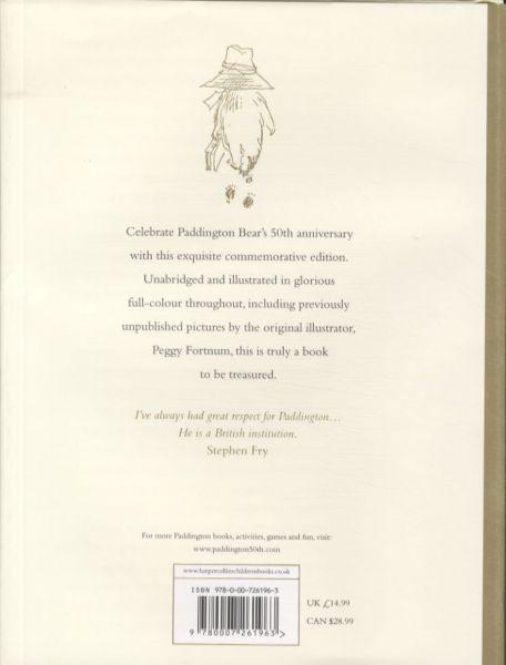 A bear called paddington (50th anniversary edition) - the original story of the bear from darkest peru