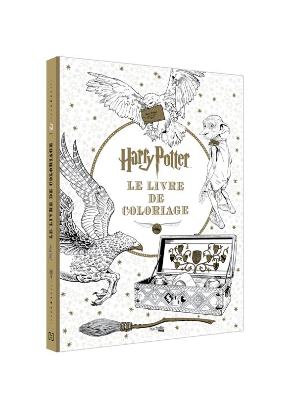 Harry Potter ; le livre de coloriages