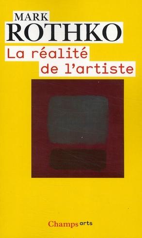 La réalité de l'artiste