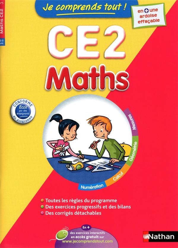Je Comprends Tout!; Mathematiques ; Ce2 ; 8-9 Ans