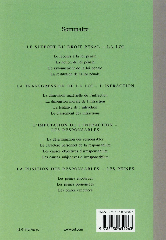 Droit pénal général (5e édition)