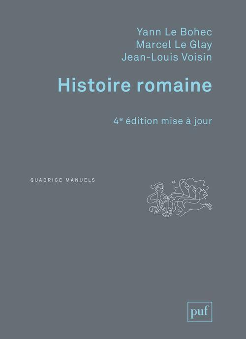 Histoire romaine (4e édition)