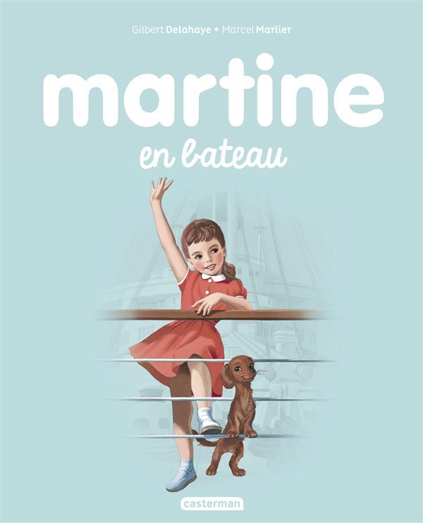 Martine T.10 ; Martine en bateau