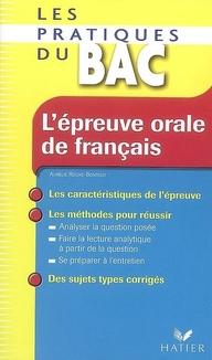 L'Epreuve Orale De Francais