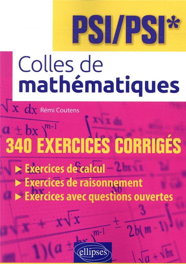 Colles de mathématiques ; PSO/PSO*