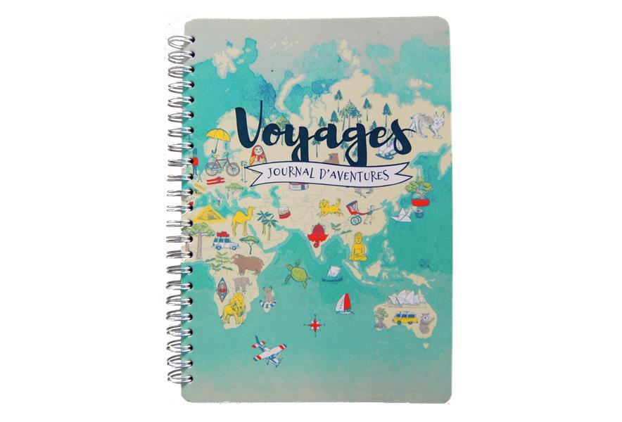 Voyage, journal d'aventures