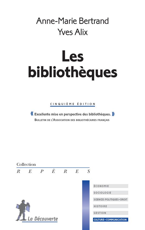 LES BIBLIOTHEQUES