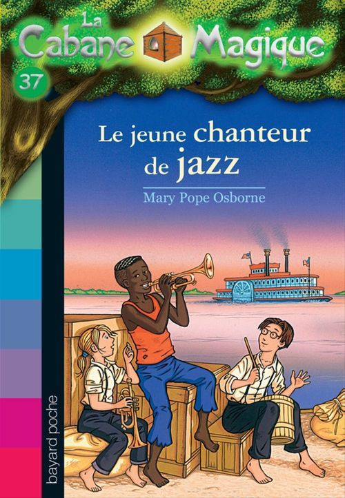 La cabane magique T.37 ; le jeune chanteur de jazz