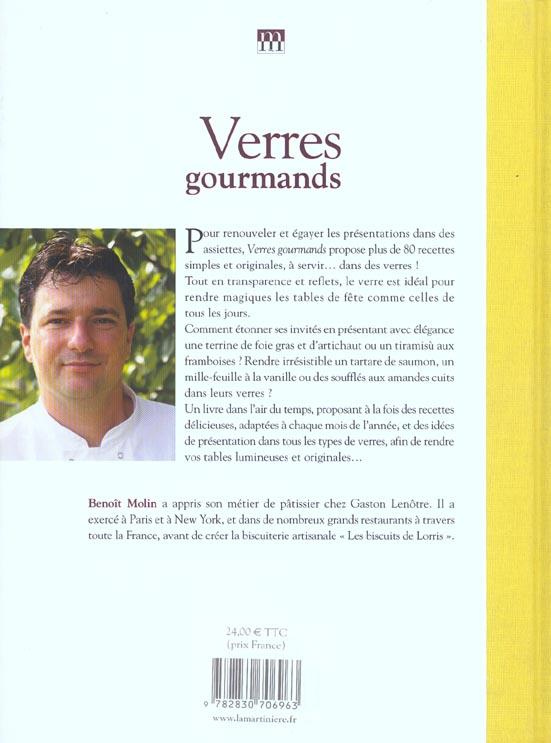 Verres gourmands