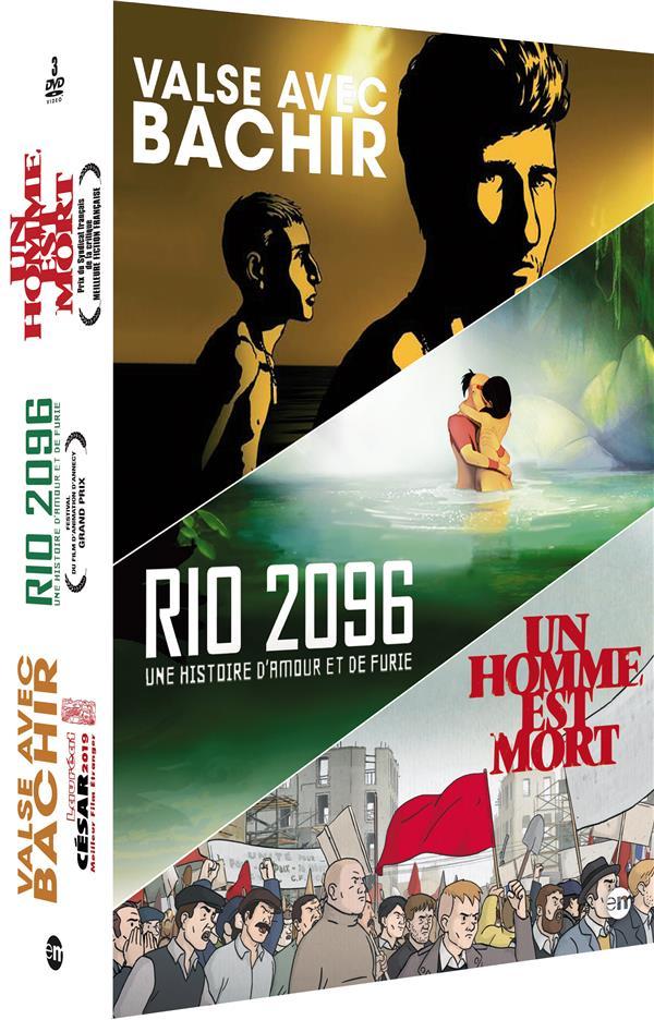 Valse avec Bachir + Rio 2096 + Un homme est mort
