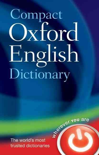 ENGLISH COMPACT DICTIONARY - 3RD REVISED EDITION