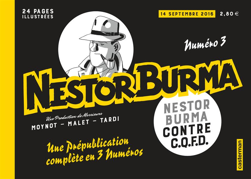 journal de Nestor Burma ; Nestor Burma contre C.Q.F.D n.3
