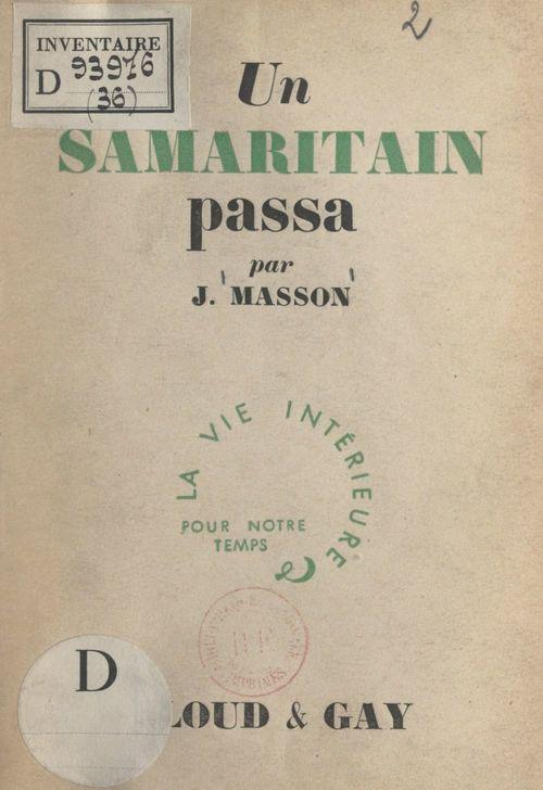 Un Samaritain passa