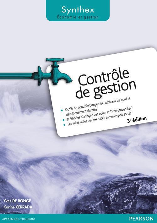 SYNTHEX ; contrôle de gestion (3e édition)