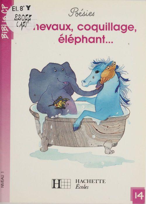 Chevaux, coquillage, éléphant