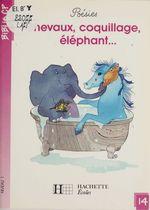 Chevaux, coquillage, éléphant  - Martine Géhin