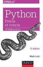 Vente Livre Numérique : Python précis et concis  - Mark Lutz