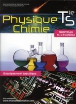Couverture de Micromega ; physique-chimie ; terminale s ; enseignement spécifique ; manuel de l'élève (édition 2012)