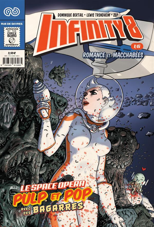 Infinity 8 n.1 ; romance et macchabees