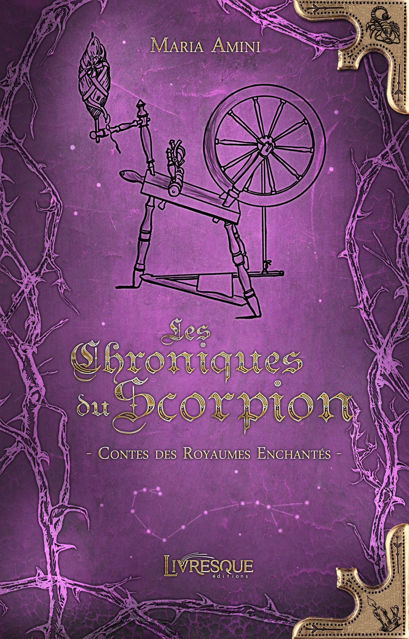 Vente EBooks : Les Chroniques du Scorpion  - Maria Amini  - Maria Ami