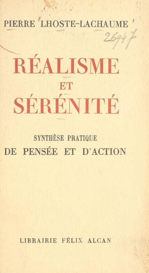 Réalisme et sérénité