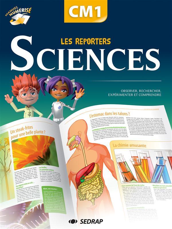 reporters sciences cm1 - manuel