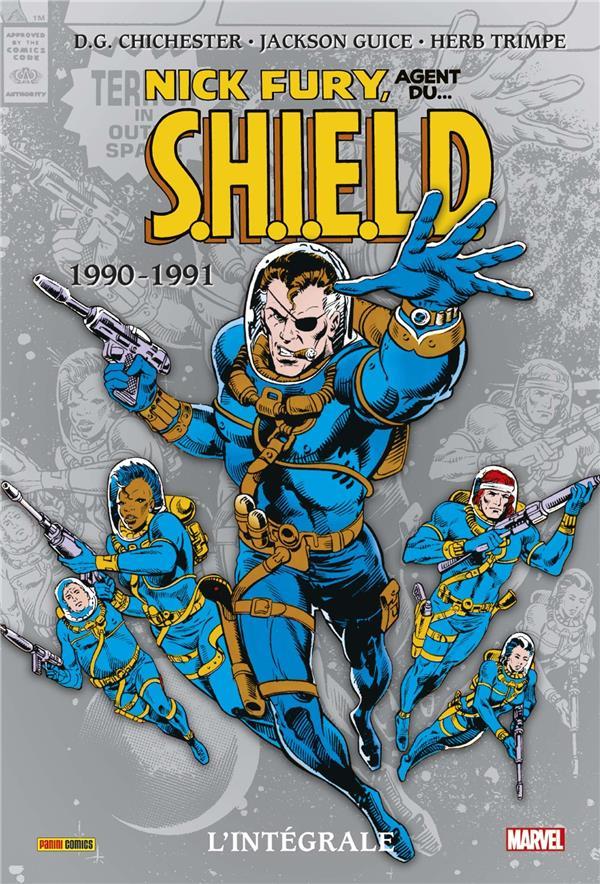 Nick Fury ; agent du S.H.I.E.L.D. ; Intégrale vol.6 ; 1990-1991