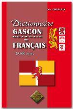 Dictionnaire gascon béarnais et français