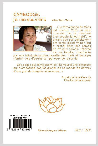 Cambodge, je me souviens