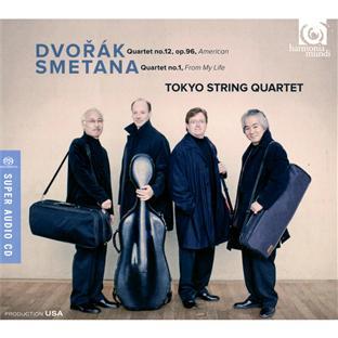 Dvorak : quatuor n°12 op.96 americain - Smetana : quatuor n°1