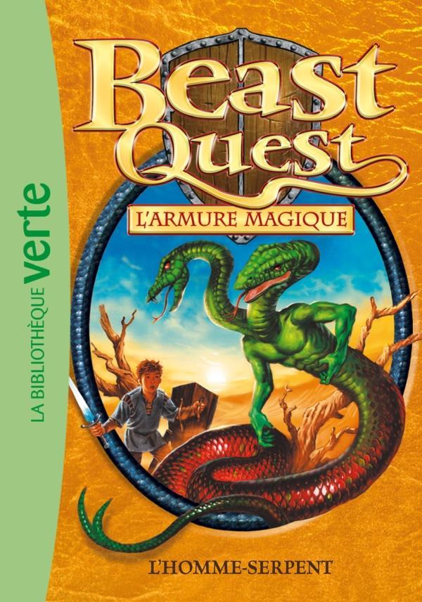 Beast Quest T.12 ; l'homme-serpent