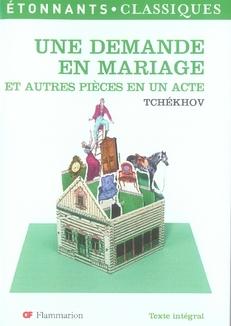 DEMANDE EN MARIAGE ET AUTRES P